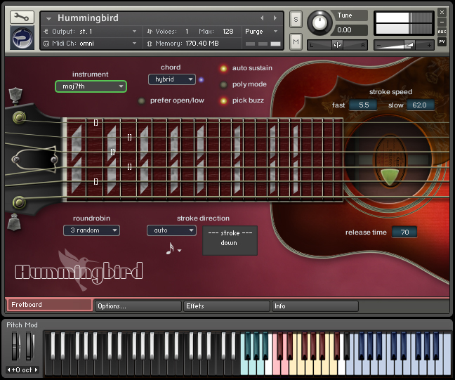 Kvr Prominy Releases Hummingbird Virtual Acoustic Guitar For