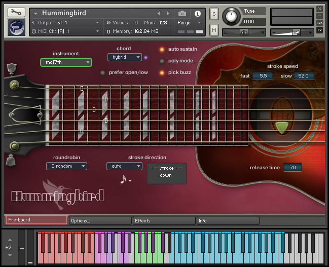 kvr hummingbird by prominy acoustic guitar vst plugin audio units plugin aax plugin and. Black Bedroom Furniture Sets. Home Design Ideas