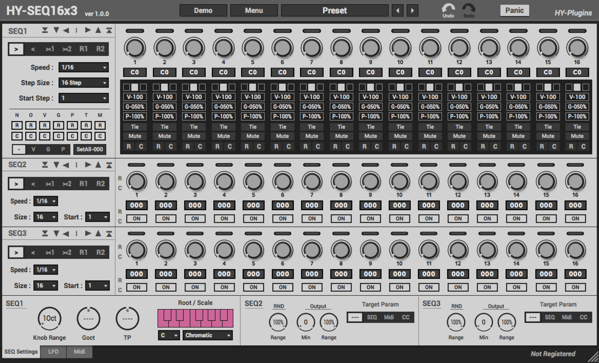 KVR: HY-Plugins releases HY-SEQ16x3 VST for Mac and Windows