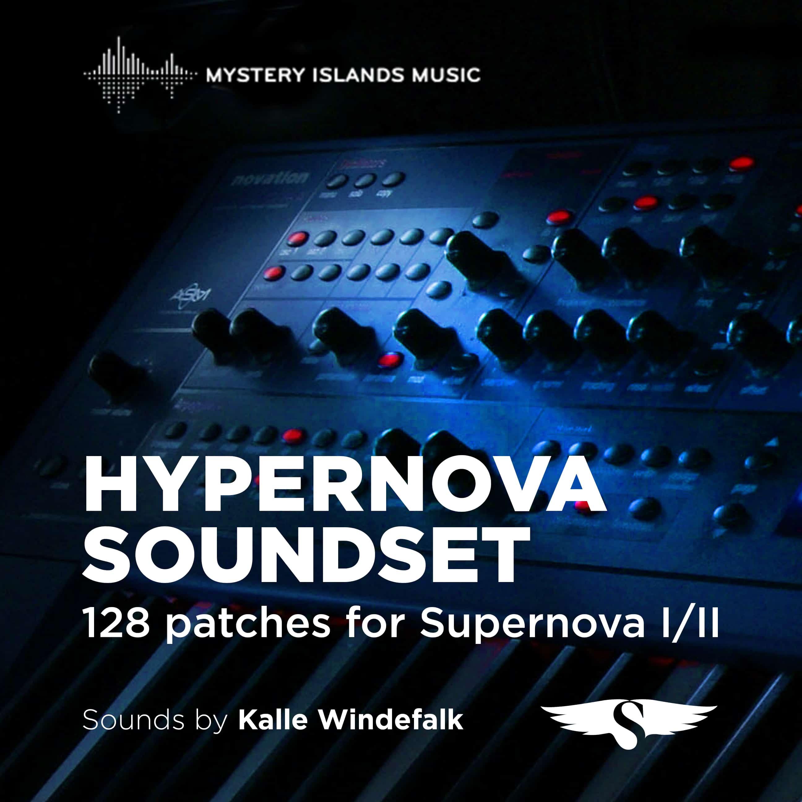 Novation Supernova Hypernova Soundset