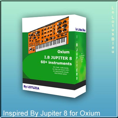 KVR: Inspired By Jupiter 8 by Le Lotus Bleu - Presets for Oxium