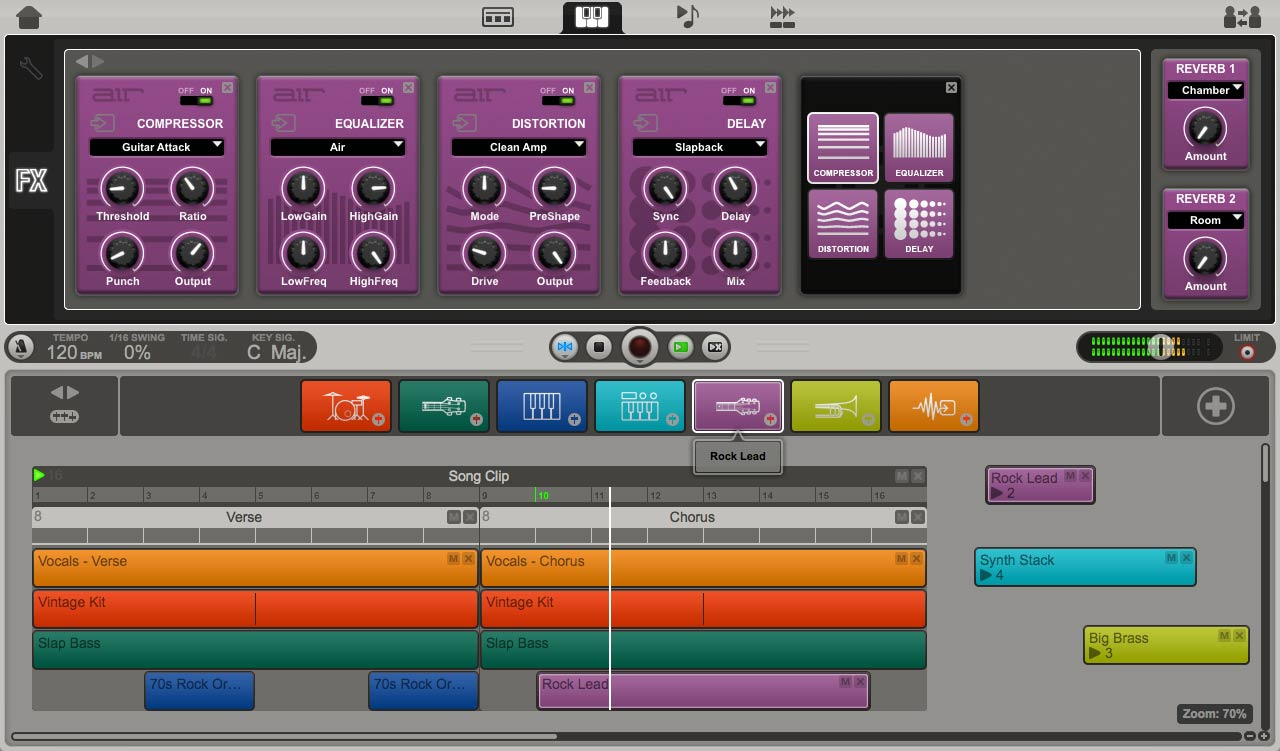 KVR: Air updates Ignite - Music Creation Software Now Available for All