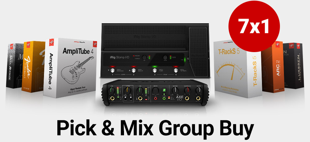 IK Multimedia Pick and Mix Group Buy