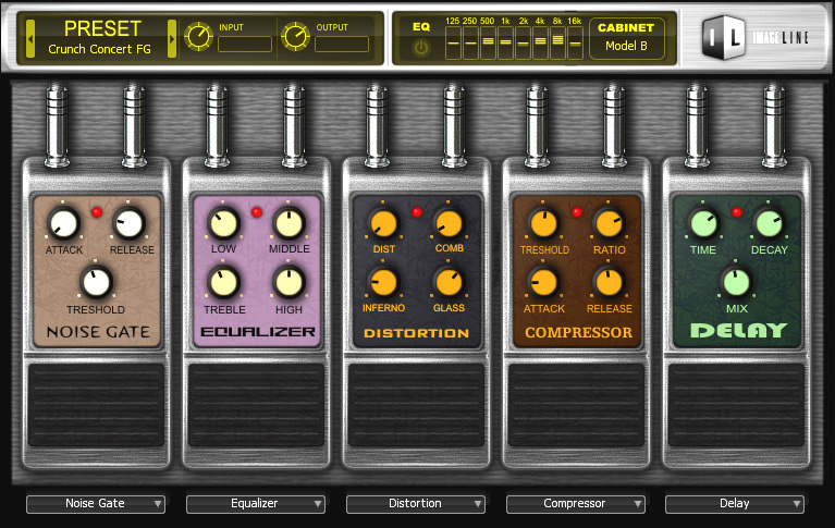 KVR: Hardcore by Image Line - Guitar Multi-FX VST Plugin and