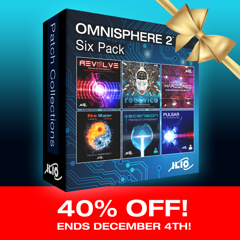 KVR: #KVRDeal ILIO Omnisphere 2 Patch Libraries Sale: 40% Off