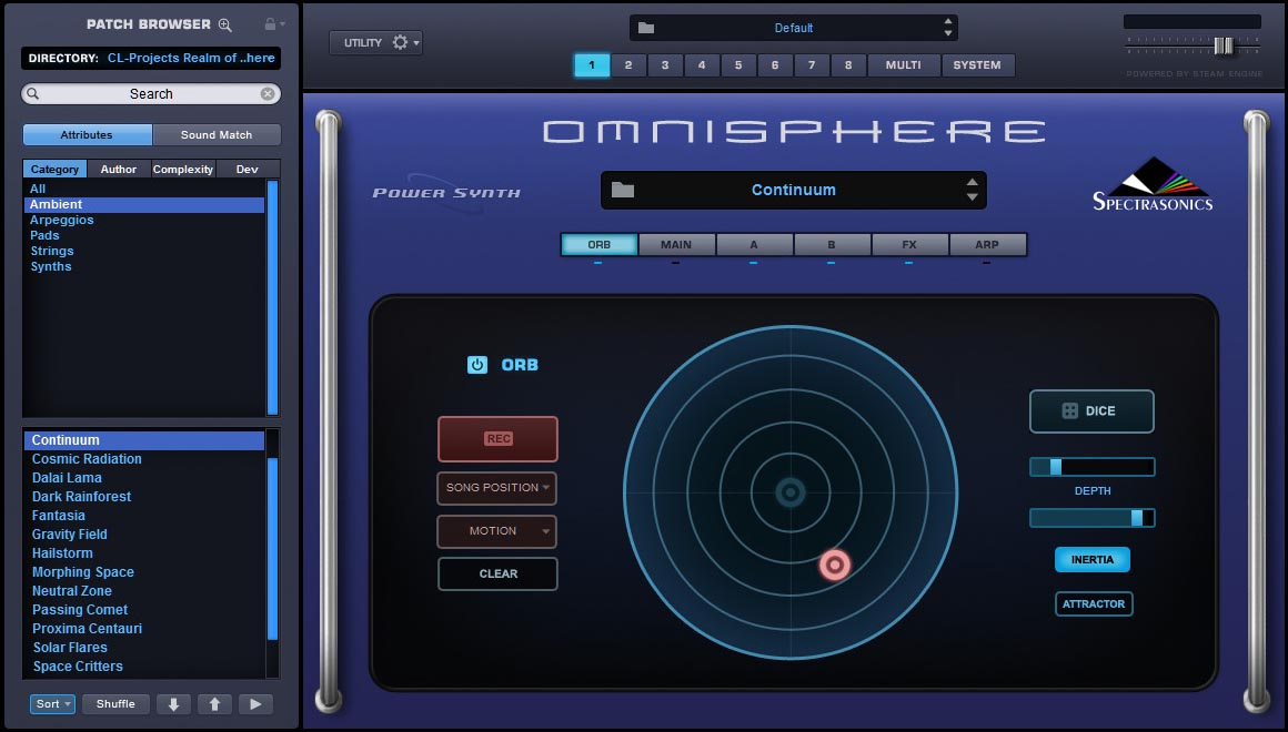 Realm of Omnisphere