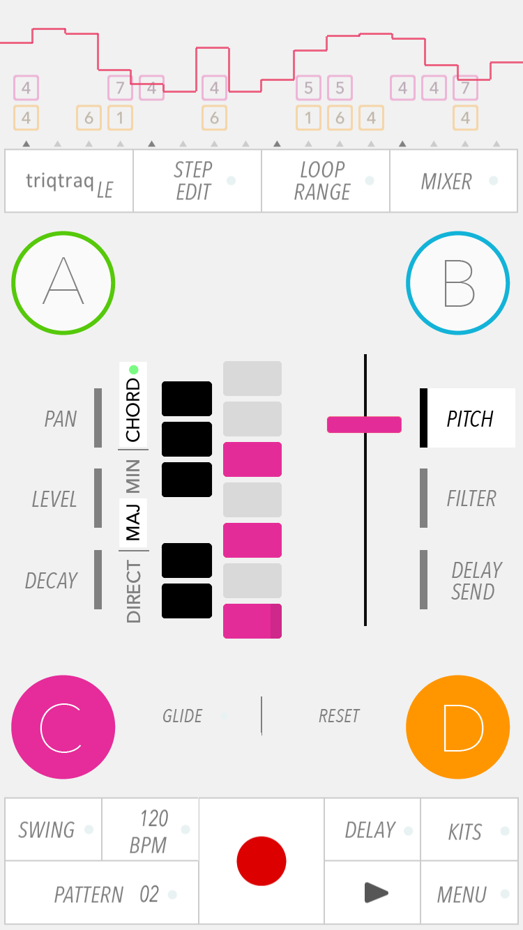 KVR: Zaplin Music releases free Triqtraq LE creative sequencer app