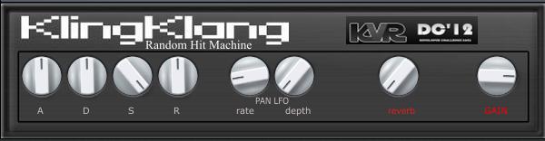KlingKlang Random drum Hit machine
