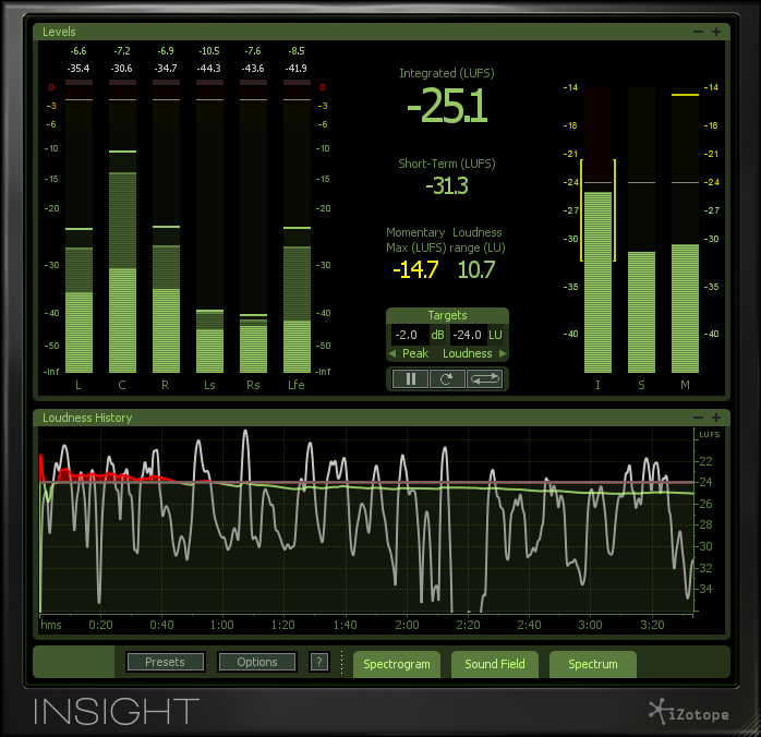 KVR: Insight by iZotope, Inc  - Metering VST Plugin, Audio