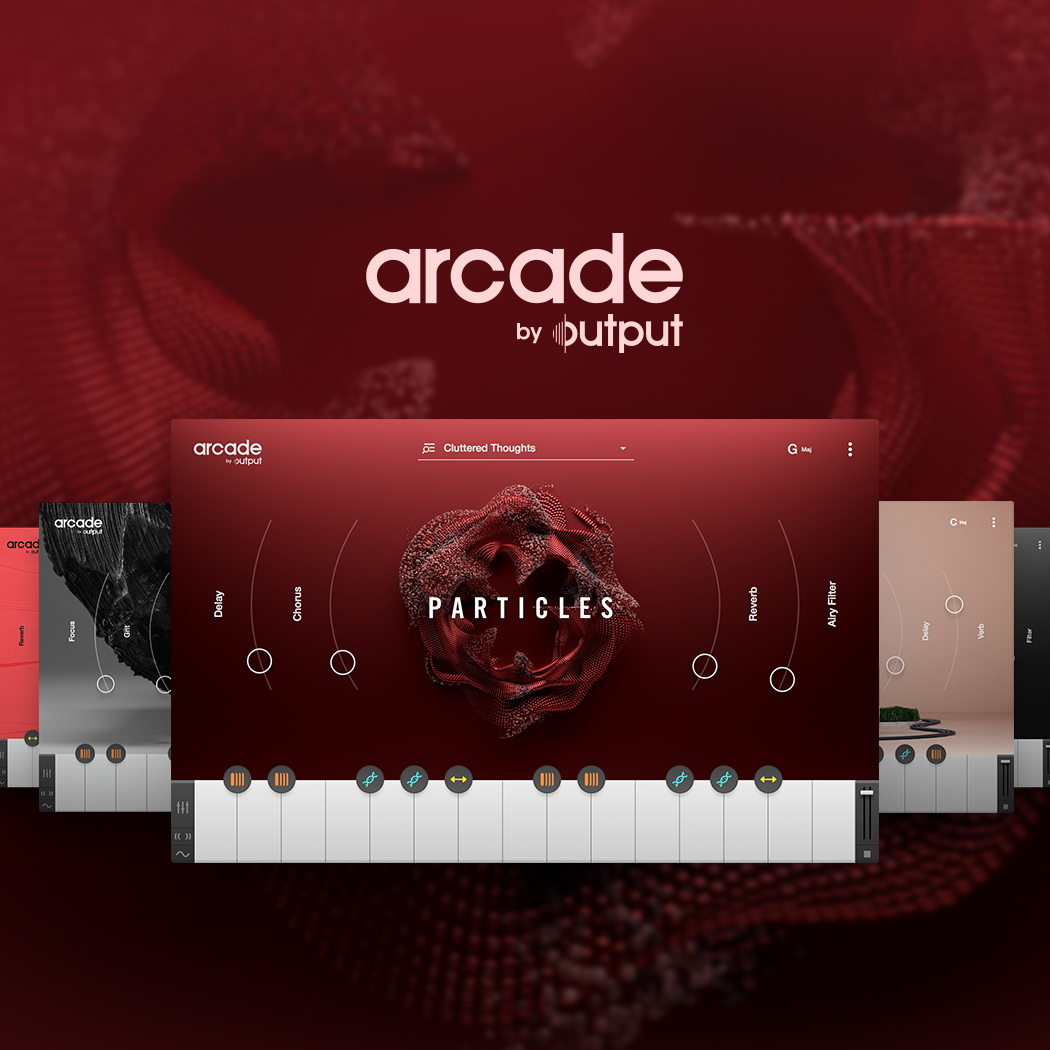 KVR: Output releases Arcade - a cloud-connected playable loop synth