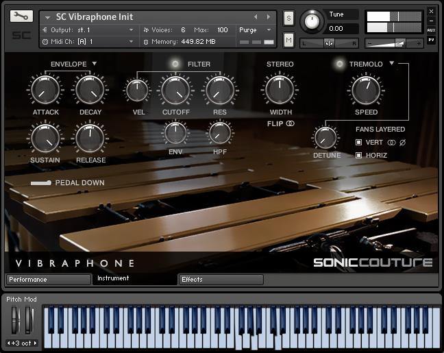 KVR: Vibraphone by Soniccouture - Vibraphone VST Plugin, Audio Units