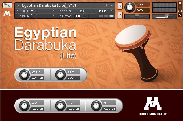Egyptian Darabuka (Lite) V1.1