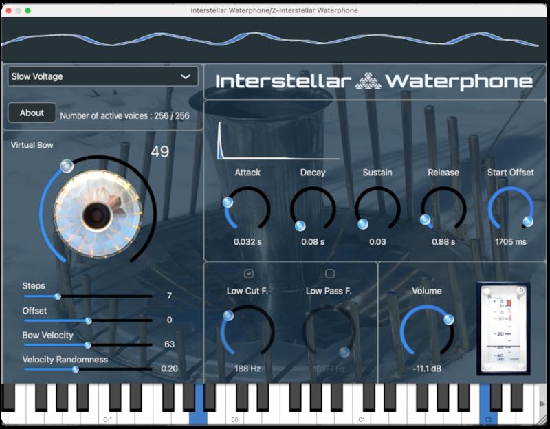 Interstellar Waterphone 1.0