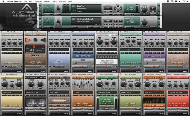 kvr intone bass by audified plug in chainer rack vst plugin. Black Bedroom Furniture Sets. Home Design Ideas