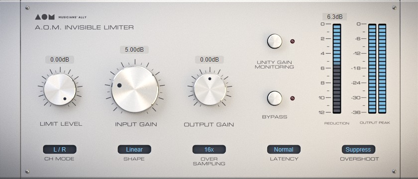 Invisible Limiter