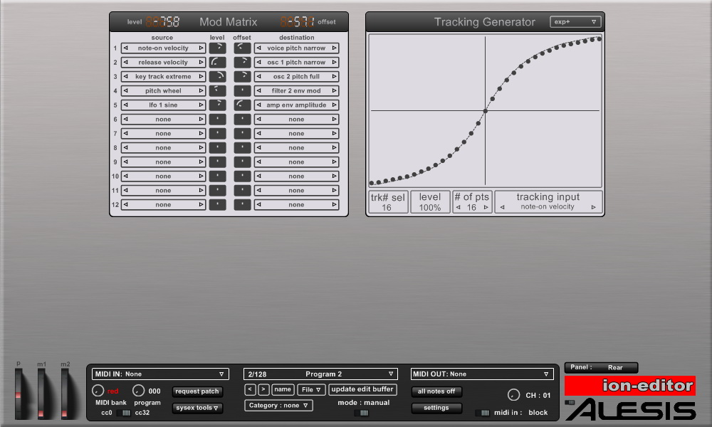 KVR: Ion-editor by HyperSynth - MIDI Controller VST Plugin and