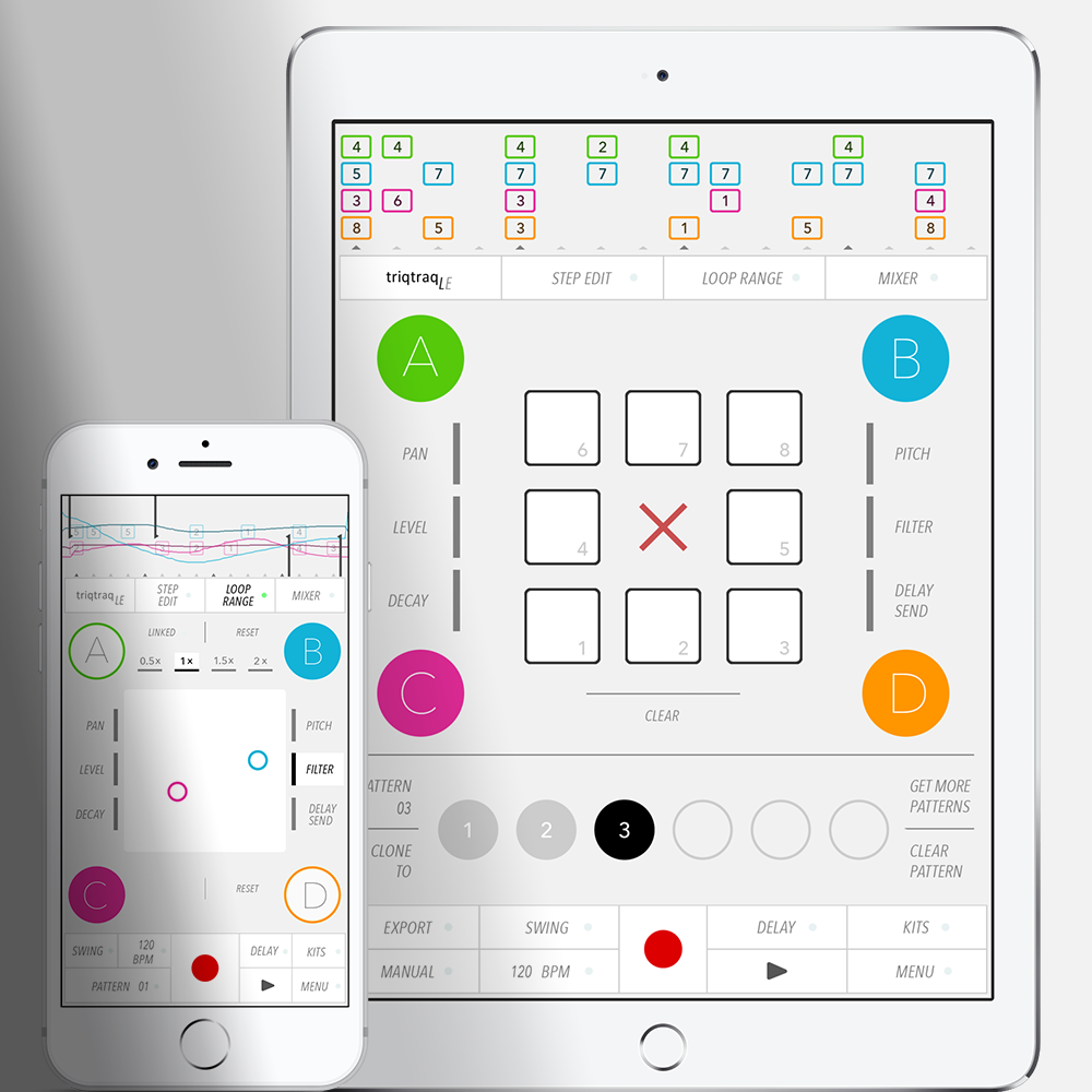 Zaplin Music Released Triqtraq Le A Free Version Of Their Jam Sequencer This Limited Edition Is Now Available For Iphone And Ipad On The