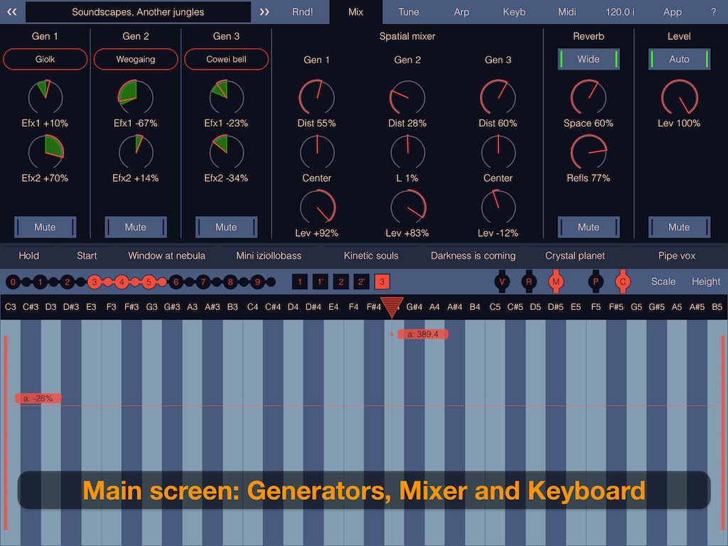 Igor Vasiliev updates SynthScaper LE for iOS to v1.3