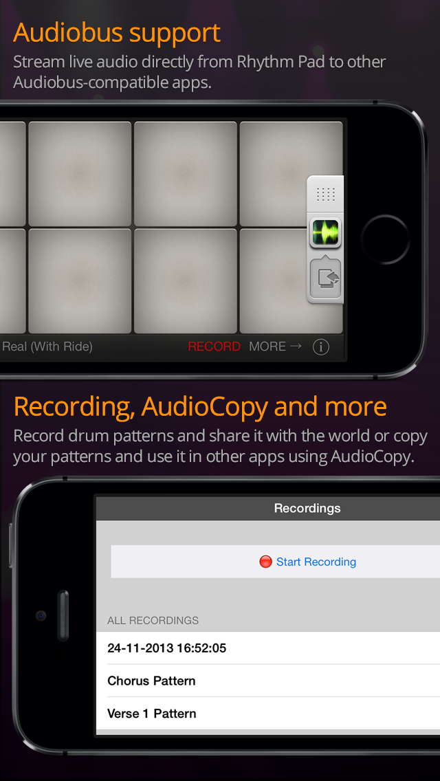 kvr rhythm pad by jsplash apps drums. Black Bedroom Furniture Sets. Home Design Ideas