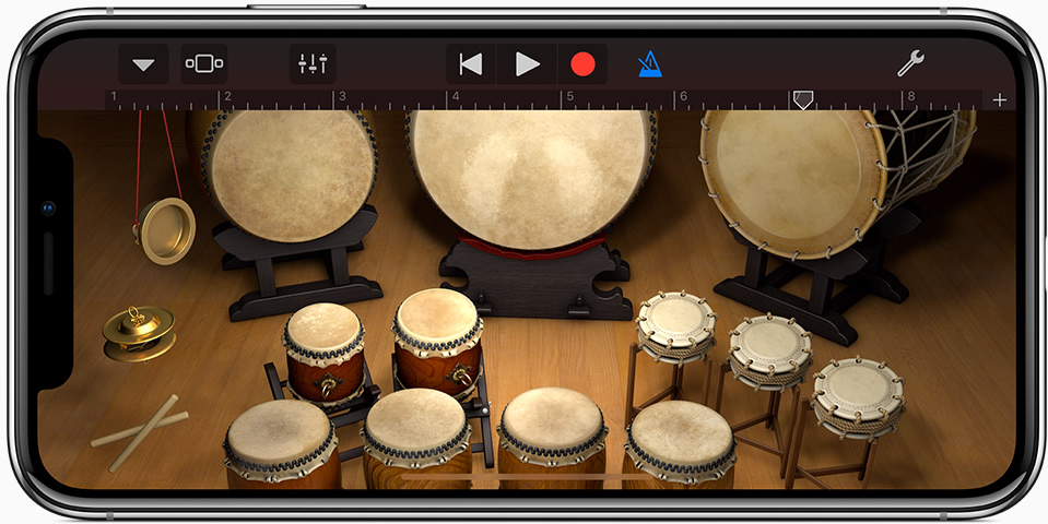 KVR: Apple updates GarageBand for iOS to v2 3 - New Sound Library