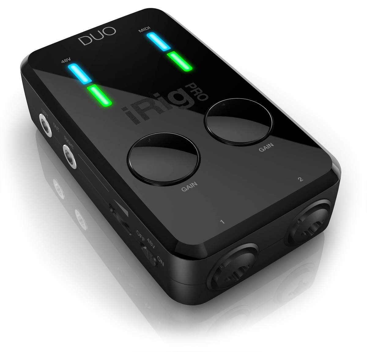 kvr irig pro duo by ik multimedia audio interface. Black Bedroom Furniture Sets. Home Design Ideas