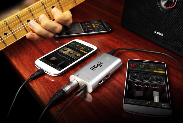 kvr ik multimedia announces irig ua universal android guitar effects processor interface at namm. Black Bedroom Furniture Sets. Home Design Ideas
