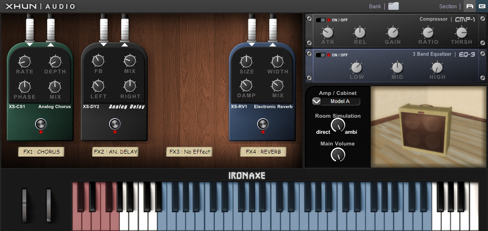 kvr ironaxe by xhun audio electric guitar vst plugin. Black Bedroom Furniture Sets. Home Design Ideas