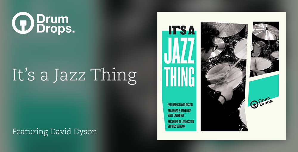 KVR: Drum drops releases It's A Jazz Thing - Jazz Drum multi-tracks