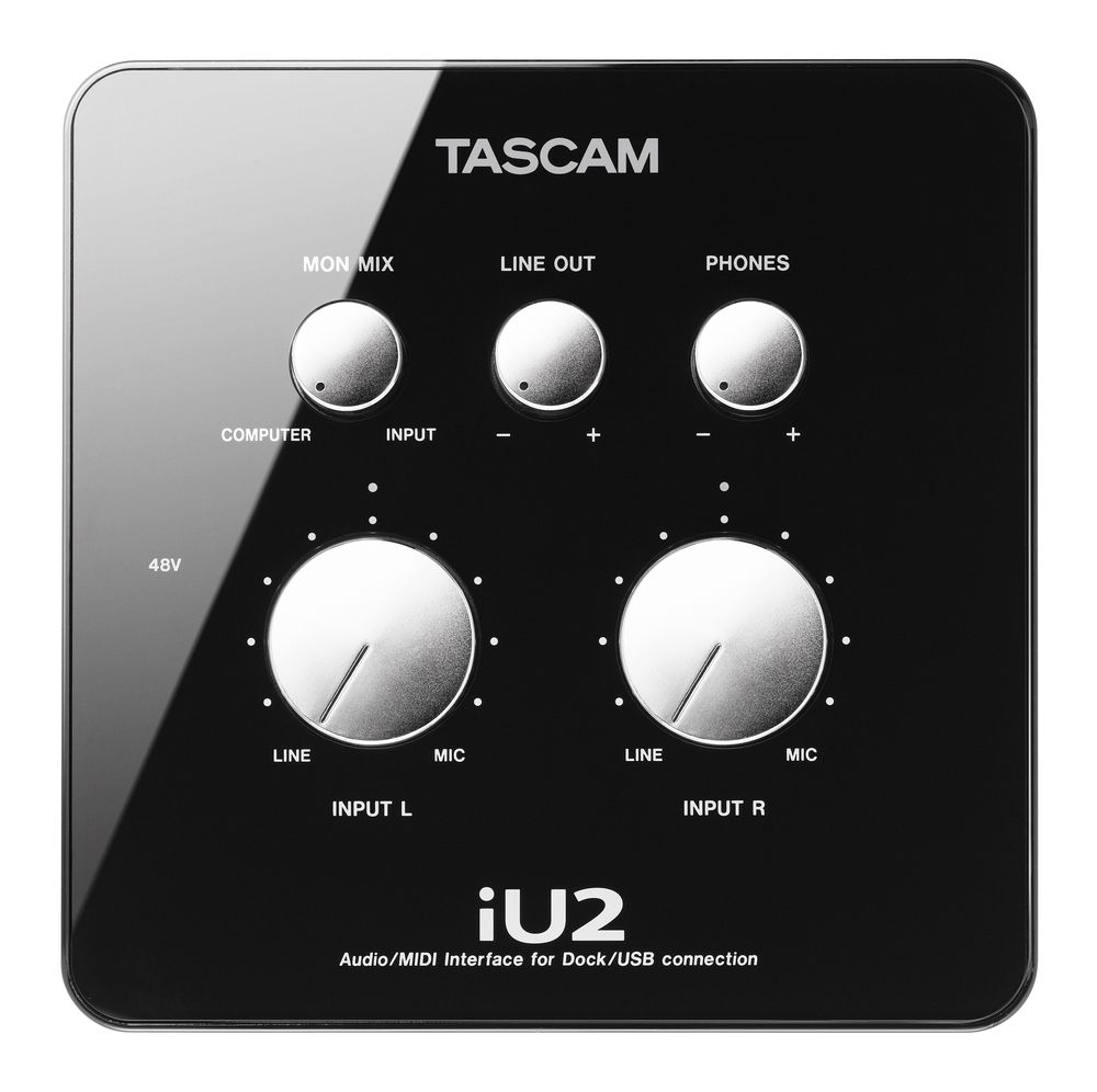kvr tascam introduces iu2 audio interface for mac windows and ios. Black Bedroom Furniture Sets. Home Design Ideas