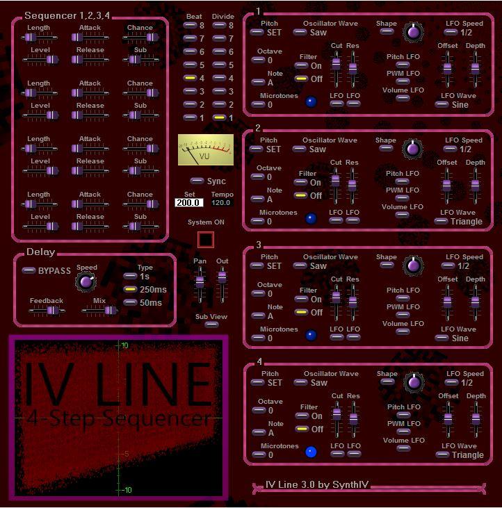 IV Line 2.0 VSTI plugin gratuit