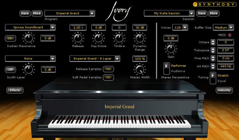 Ivory Grand Pianos