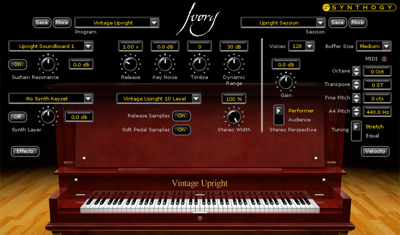 Kvr Synthogy Releases Ivory Upright Pianos