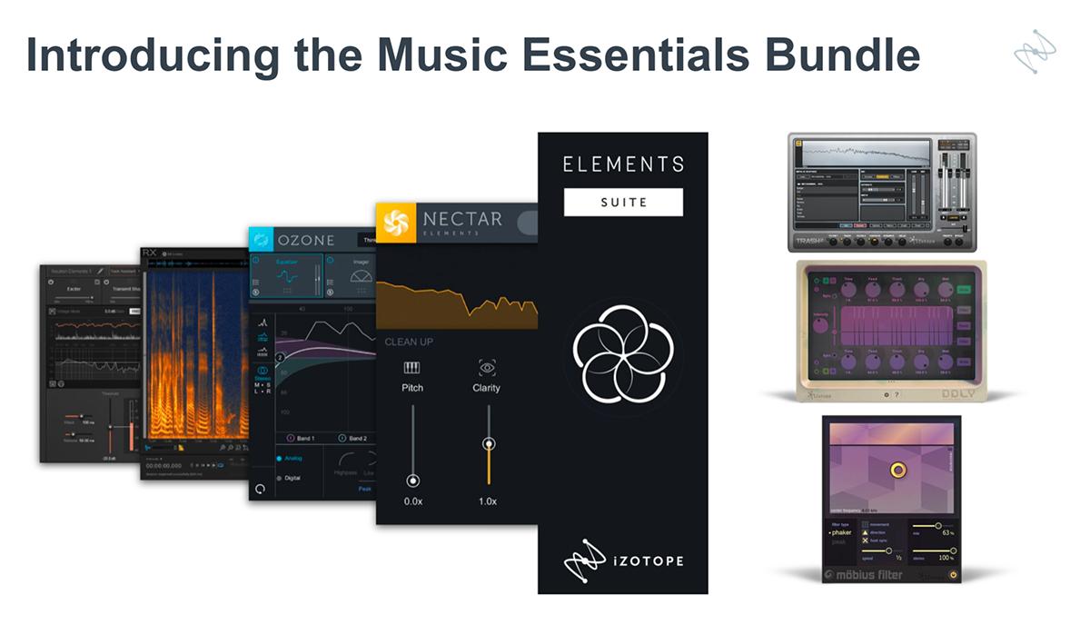 KVR: Music Essentials Bundle by iZotope, Inc  - Custom