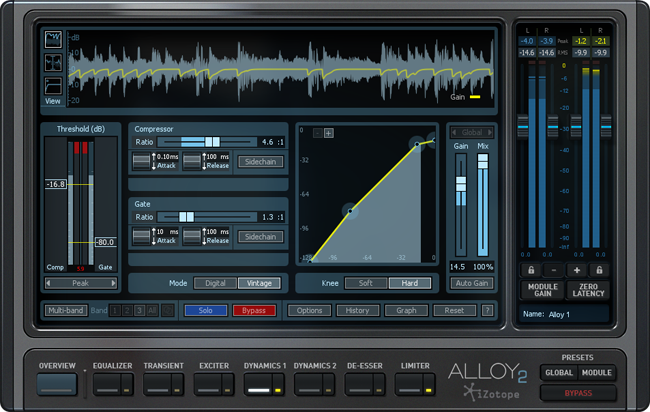 KVR: Alloy 2 by iZotope, Inc  - Mixing VST Plugin, Audio
