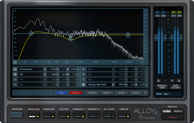 KVR: Alloy 2 by iZotope, Inc  - Mixing VST Plugin, Audio Units