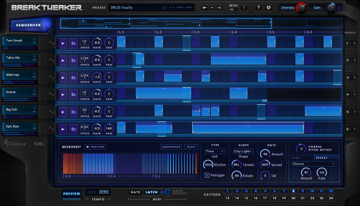 kvr breaktweaker by izotope inc beat sequencer vst plugin audio units plugin vst 3 plugin. Black Bedroom Furniture Sets. Home Design Ideas
