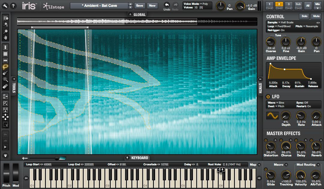 KVR: Iris 2 by iZotope, Inc  - Visual Instrument VST Plugin