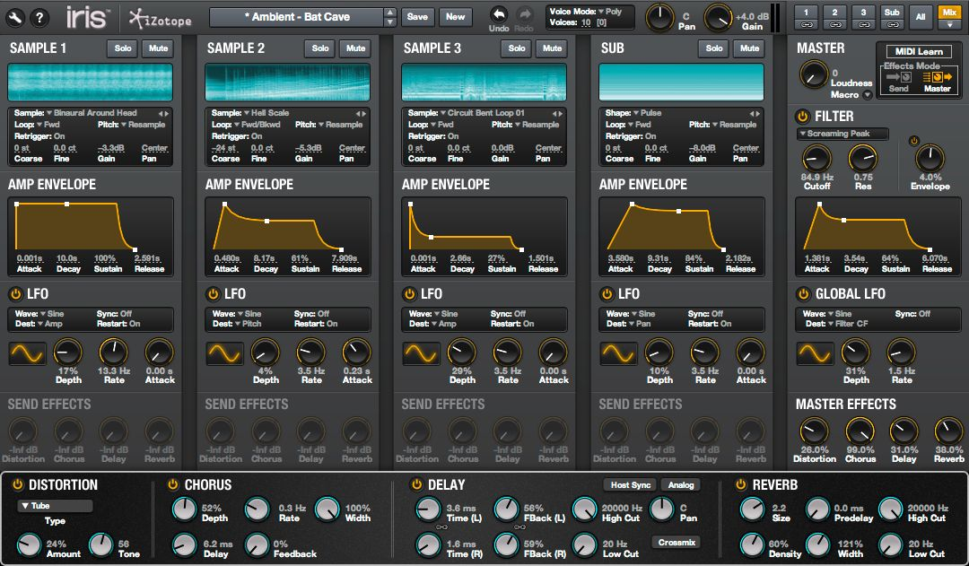 Kvr Iris 2 By Izotope Inc Visual Instrument Vst