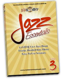 Jazz Essentials III   Jazz Drum Tracks