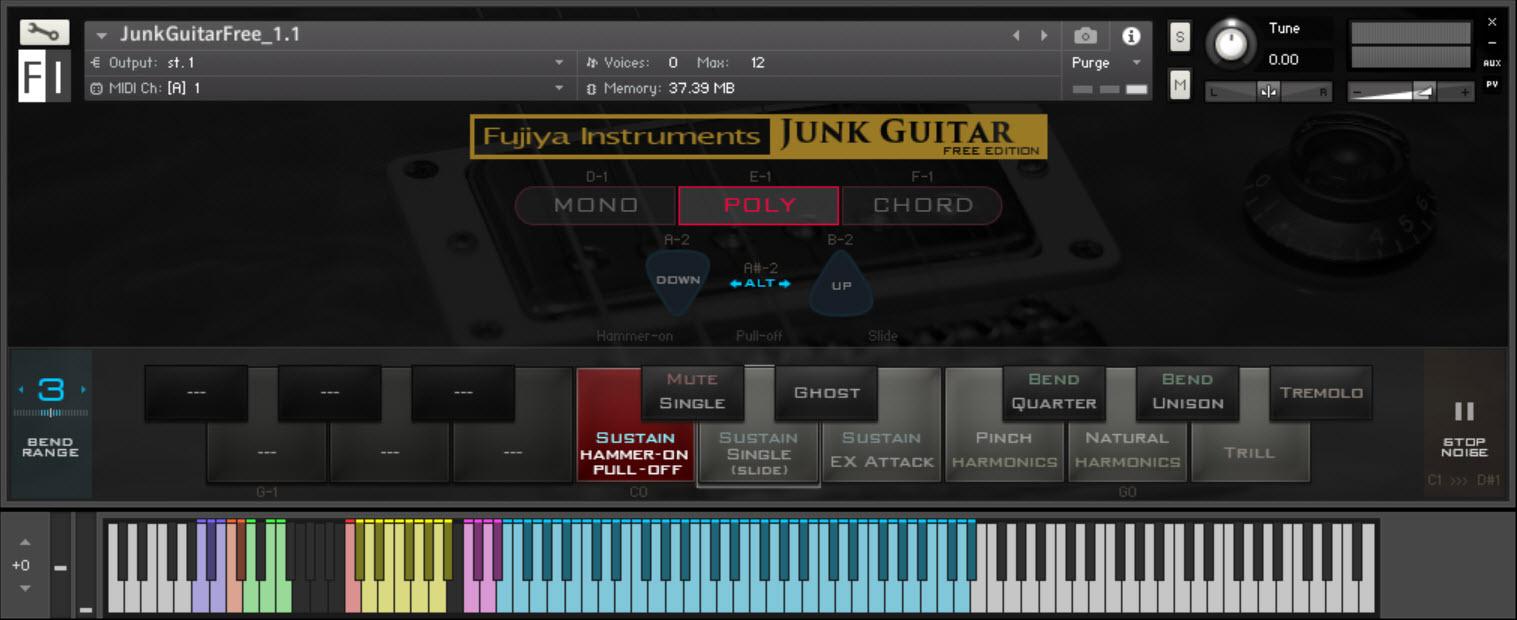 kvr junk guitar free for kontakt by fujiya instruments electric guitar samples. Black Bedroom Furniture Sets. Home Design Ideas