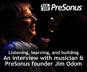 KVR Interview: PreSonus founder Jim Odom talks about 25 years of innovation