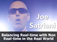 Joe Satriani - Balancing Real-time with Non Real-time in the Real World