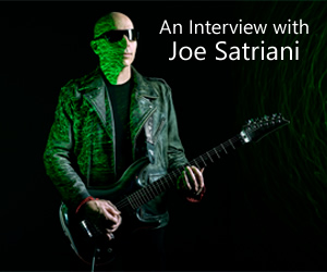 Songs in Isolation: An Interview with Joe Satriani