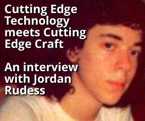 Cutting Edge Technology meets Cutting Edge Craft: An interview with Jordan Rudess