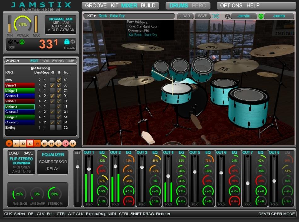 Free Virtual Drumming game