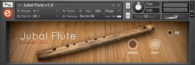 KVR: Jubal Flute by Embertone - Flute VST Plugin, Audio