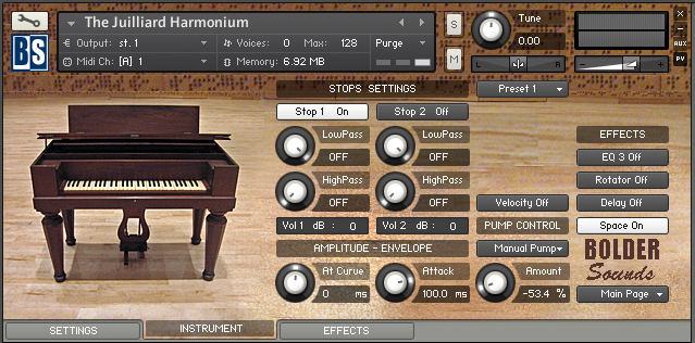 Harmoniums of the Opera