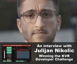 Winning the KVR Developer Challenge: An interview with Julijan Nikolic (Youlean)