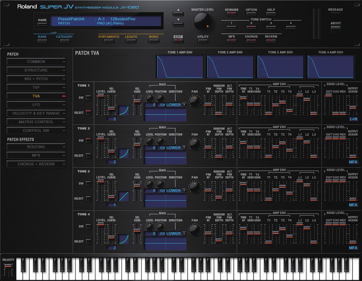 KVR: Roland Cloud updated to v4 8 - includes JV-1080 VST / AU