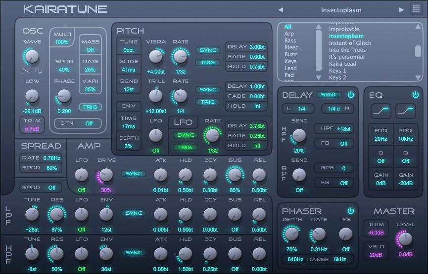Kairatune by Futucraft - KVR: VST Plugins, Audio Units (AU ...